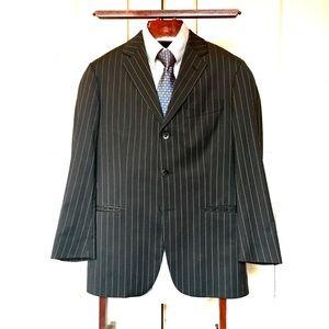 Hugo Boss Men's Pinstripe 3 Button Blazer Size 36R